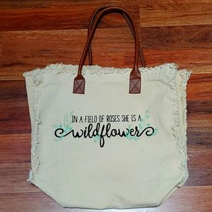 Handbags - Handbag/Beach tote, canvas, oversized